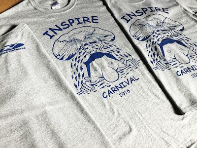 インスパイアカーニバル2016 オリジナルTシャツ