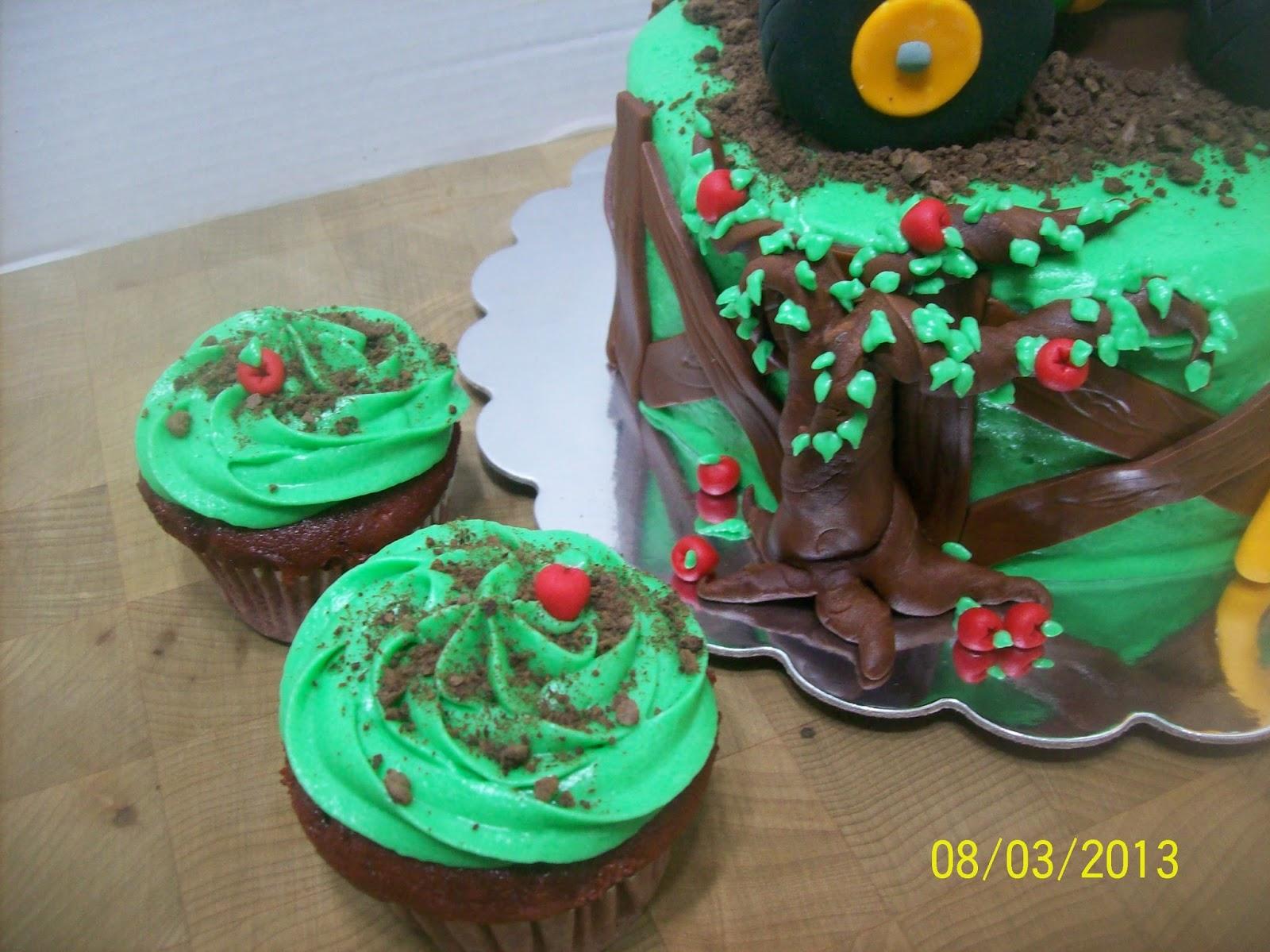 Cakes By Chris John Deere Tractor 2nd Birthday Cake