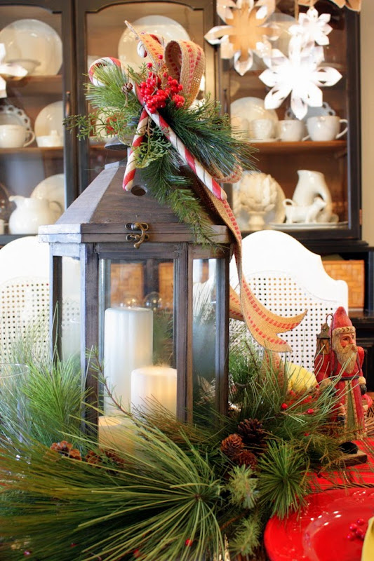 Sweet Something Designs Old World Christmas Tablescape