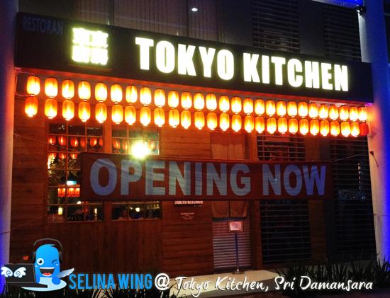 Tokyo Kitchen Menu