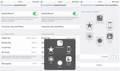 Cara Menampilkan tombol home di iPhone X Anda, Begini Caranya