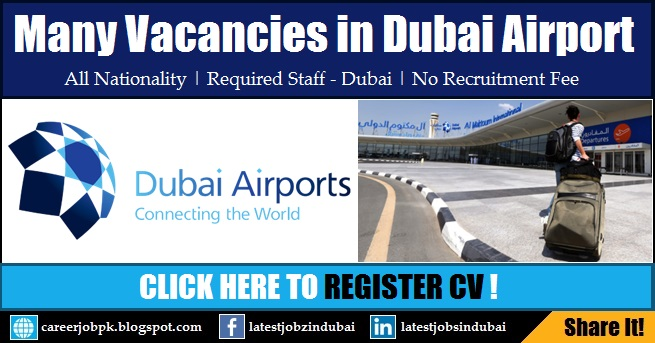 Latest Jobs in Dubai Airport 2017