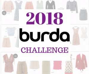 Click on photo below to see my 2018 Burda Challenge makes.