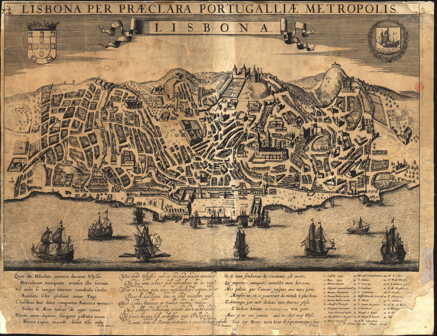 mapa de lisboa antiga Água aberta  no OCeano: E porque não Lisboa antiga mapa de lisboa antiga