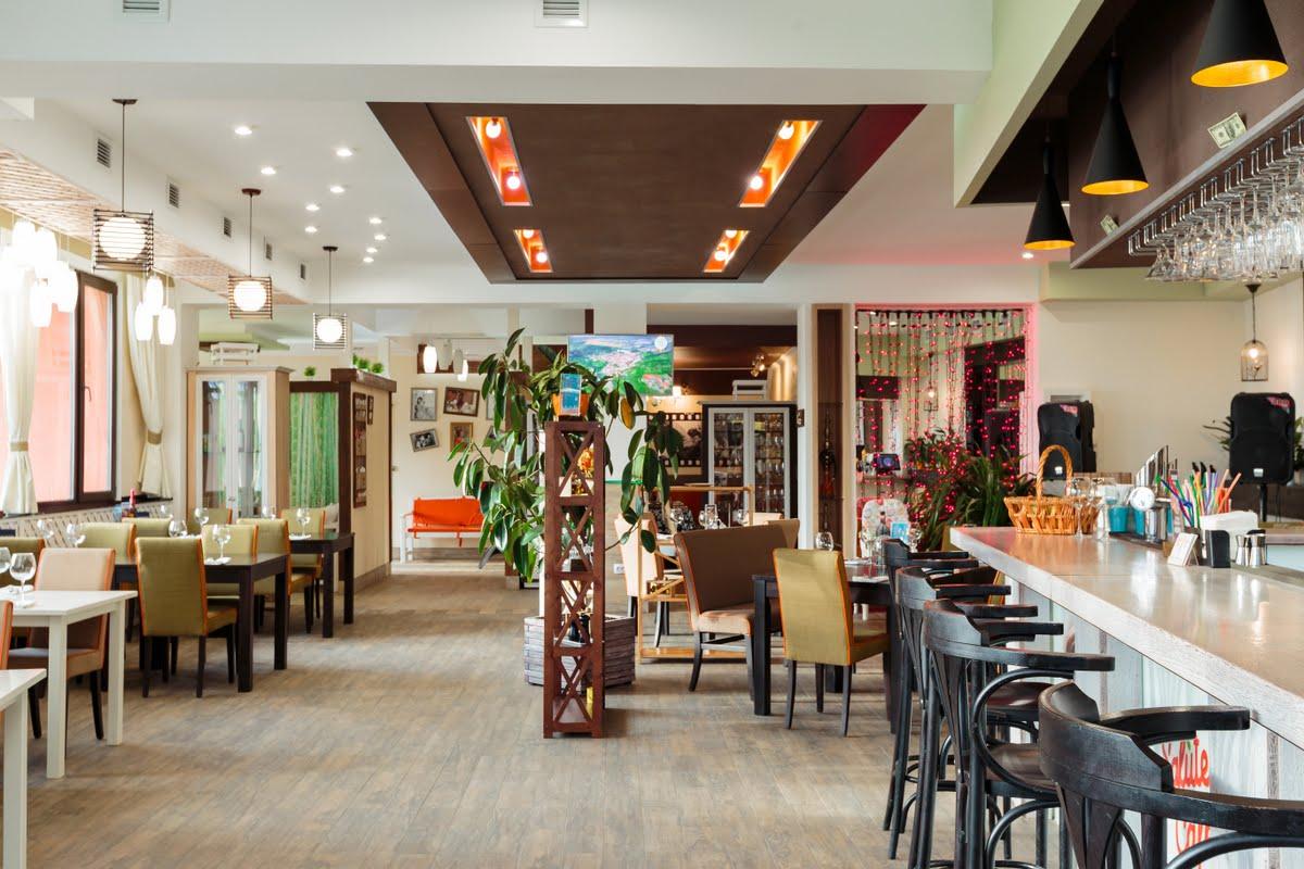 Ресторан в курортном комплексе Здоровье в Феодосии