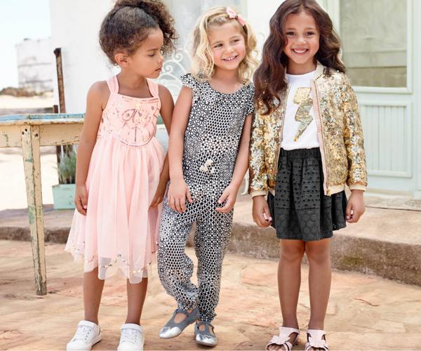 ropa niñas verano H&M