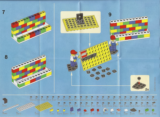 Lurkerr' Lego 850425 Desk Business Card Holder