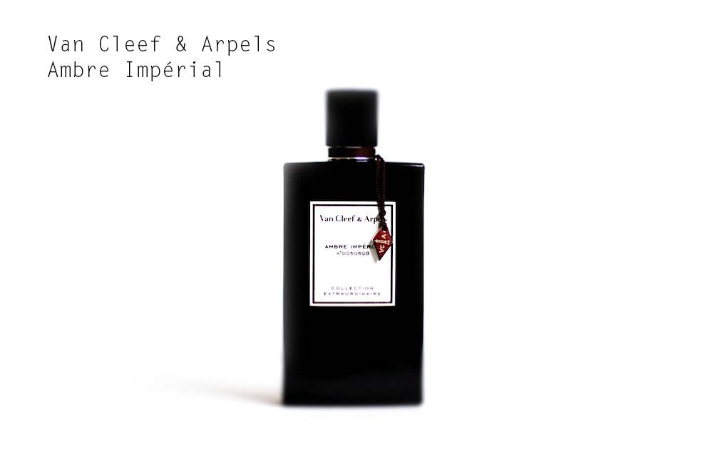 van cleef & arpels collection extraordinaire ambre impérial avis test critique parfum