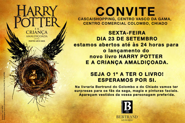 Harry Potter está de volta!
