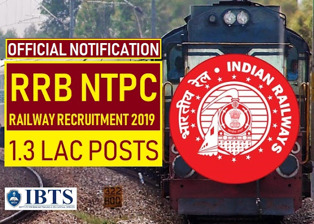 RRB NTPC 2019 Official Notification Out: Check Complete Details