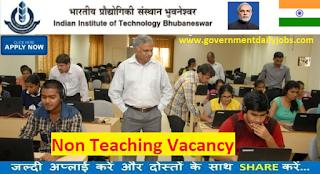 IIT Bhubaneswar Jobs 2017 for 49 Junior Technician & Other Posts
