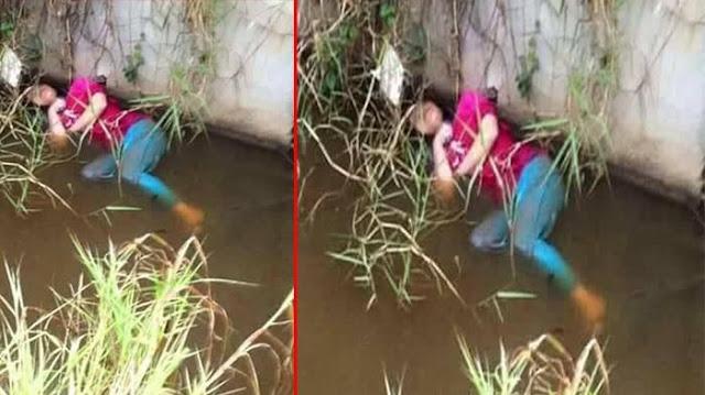 Bikin Kaget, Wanita yang Tergeletak di Sungai Ini Tiba-tiba