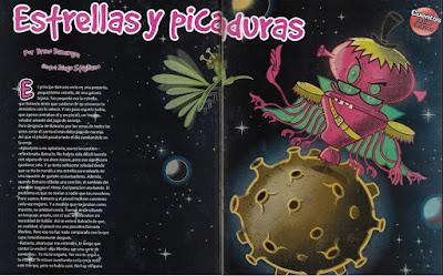 Estrellas y picaduras, publicado en Billiken