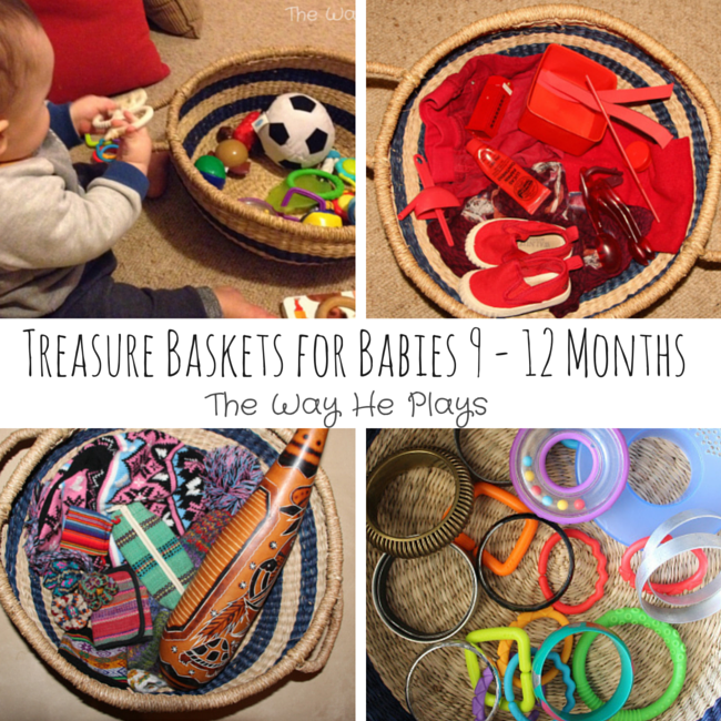 Treasure Baskets for Babies 9-12 Months