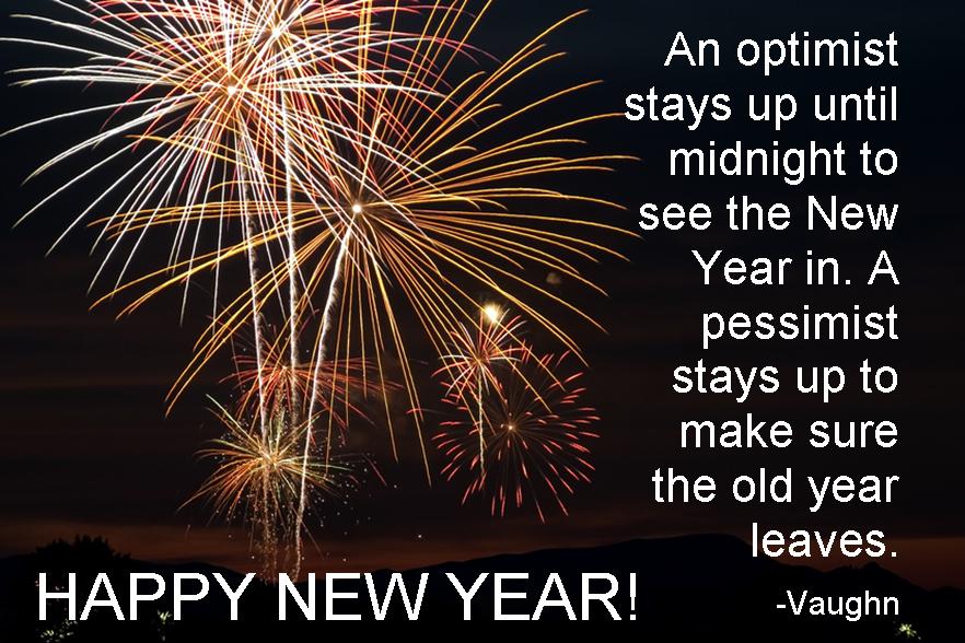 Happy New Year (quote