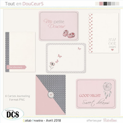 Tout en DouCeurS  - Les Cartes Journaling