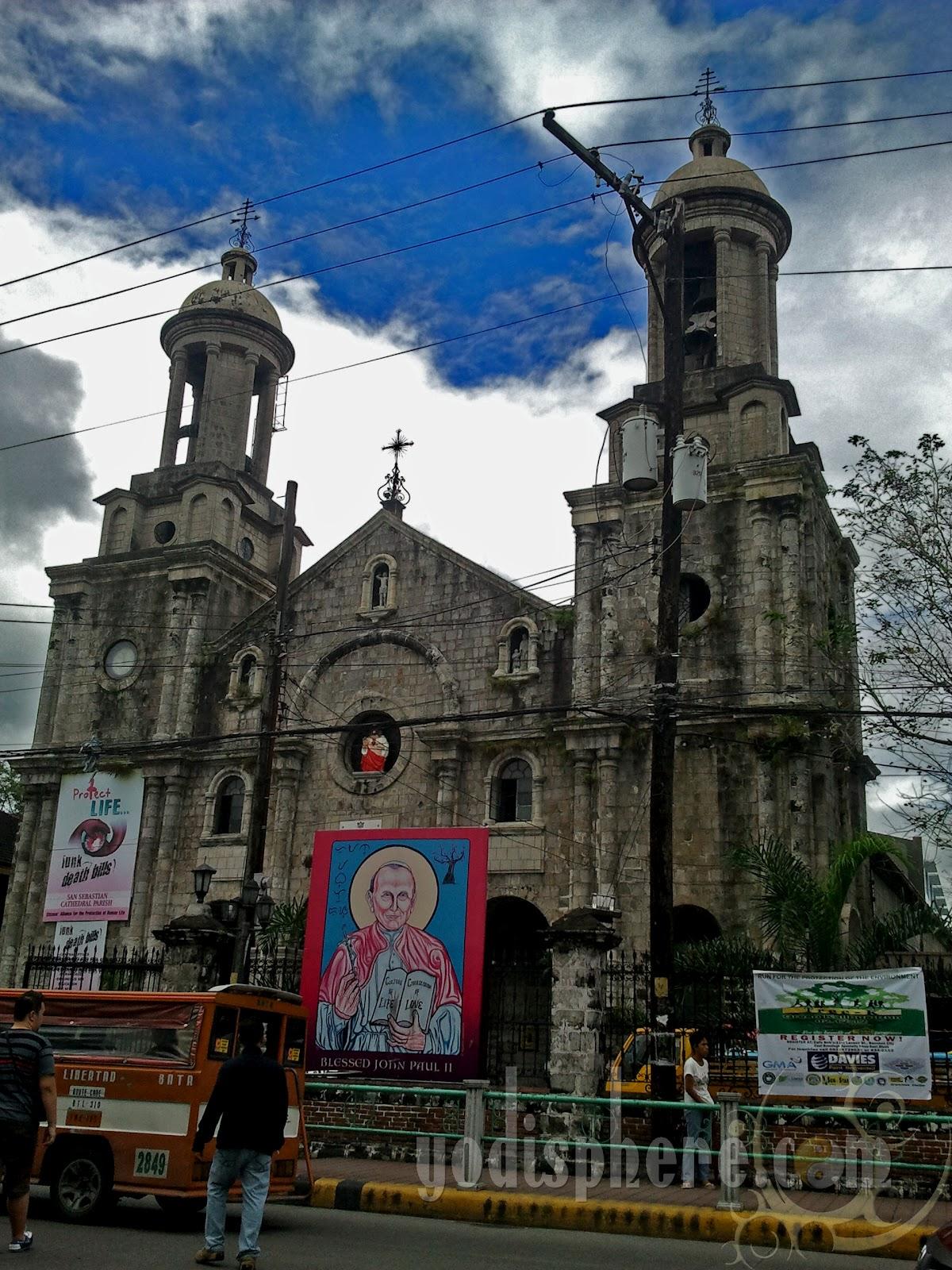 Bacolod Cathedral San Sebastian Parish 187 Old