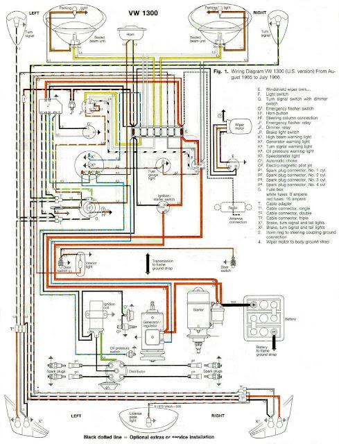 oficina zl artigos t u00e9cnicos diagramas el u00e9tricos 1956 vw wiring diagram