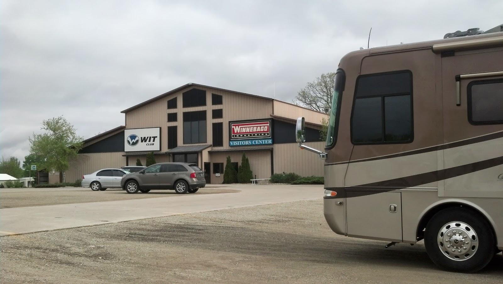 Let's Just Go Somewhere: Winnebago Factory Tour