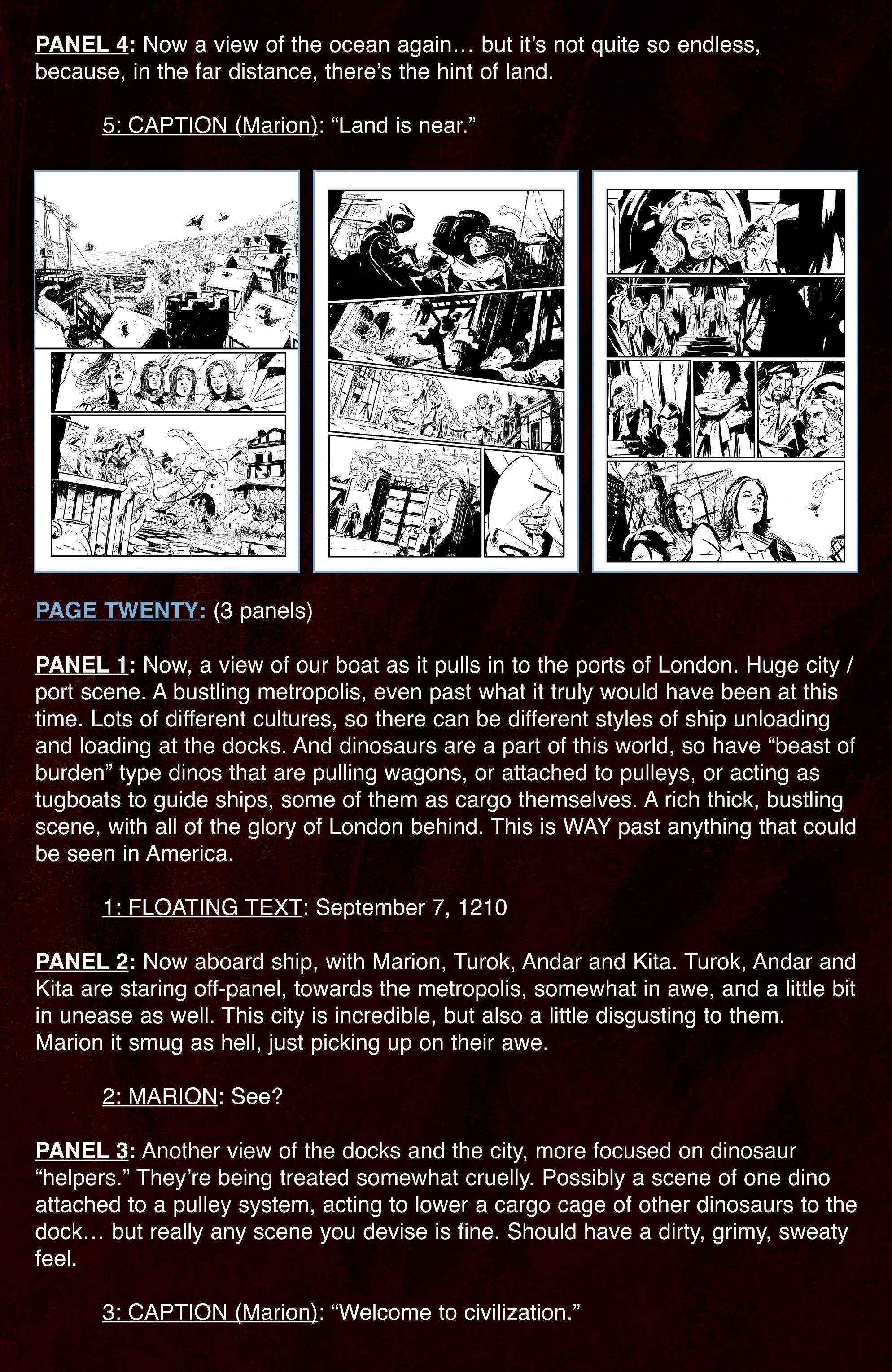 Read online Turok: Dinosaur Hunter (2014) comic -  Issue # _TPB 3 - 110