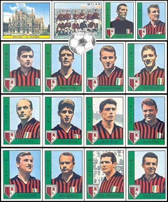 Figurine Panini Milan 1962/63