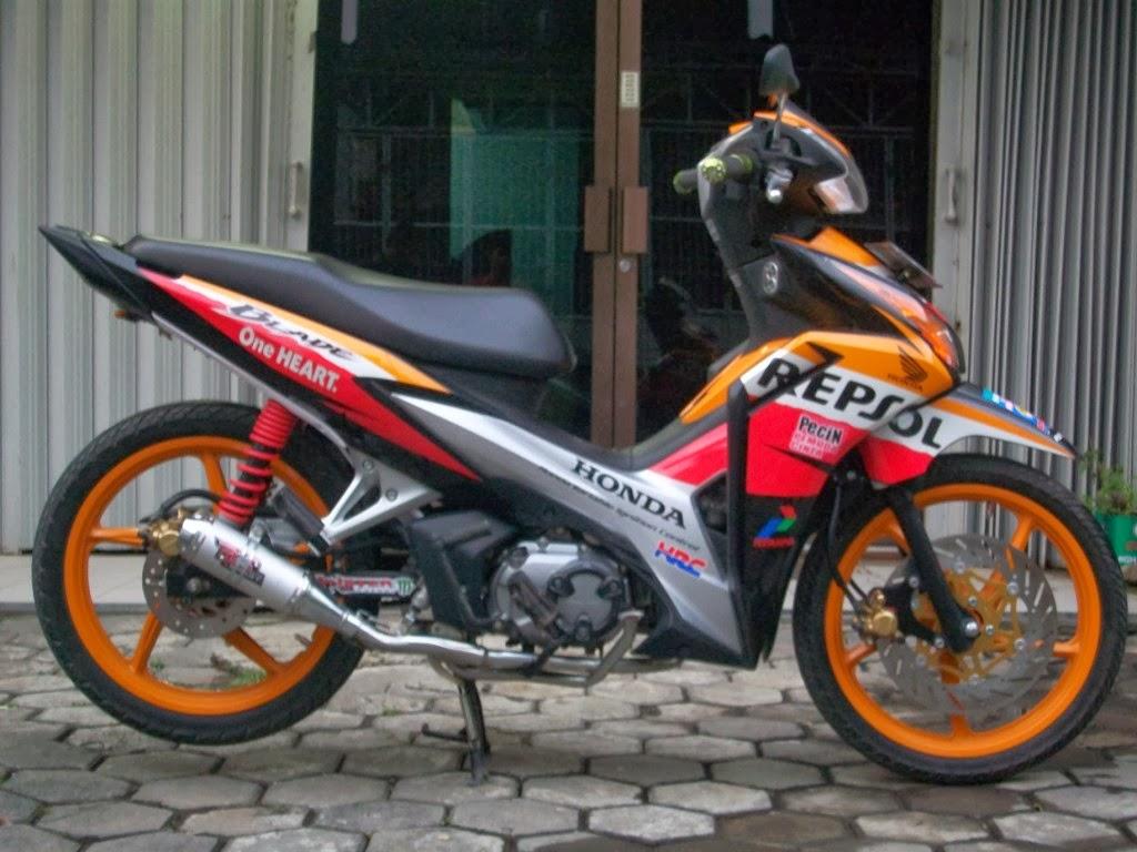Modifikasi Honda Beat Repsol Terbaru Sumber Inspirasi