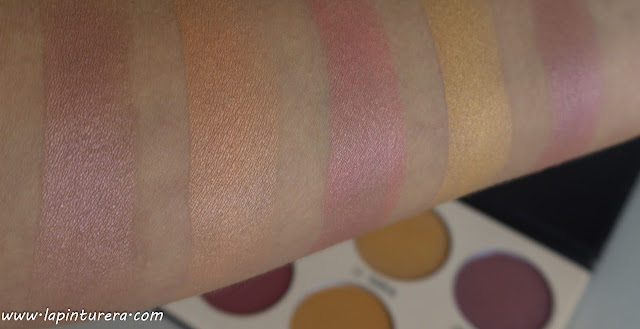 swatches coloretes shimmer