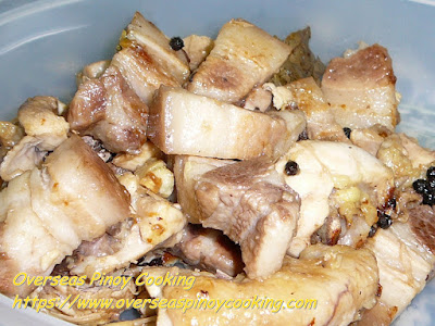 Pork and Chicken Adobo, Adobong Puti