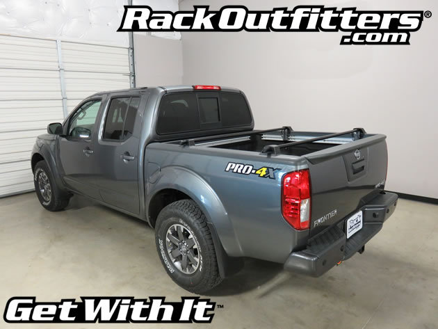rack outfitters nissan frontier yakima bedrock truck bed. Black Bedroom Furniture Sets. Home Design Ideas
