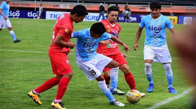 Aurora vs Guabirá VER EN VIVO ONLINE por la fecha 23 del fútbol boliviano 2019.