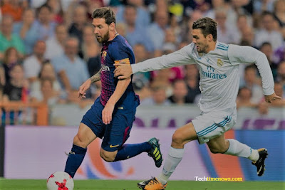 Barcelona vs Real Madrid The great Thrilling Football World