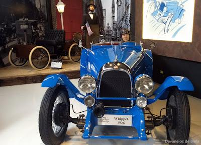 Curitiba Antique Car - carros antigos e clássicos - Whippet