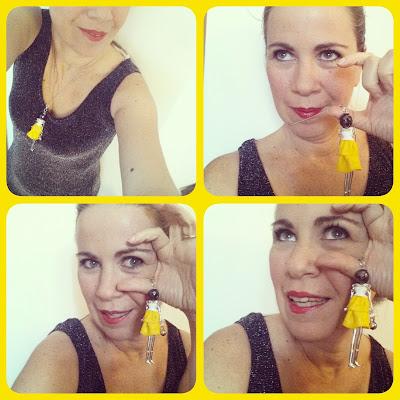 le Albertine in crociera outfit da crociera bamboline bijoux pasta polimerica