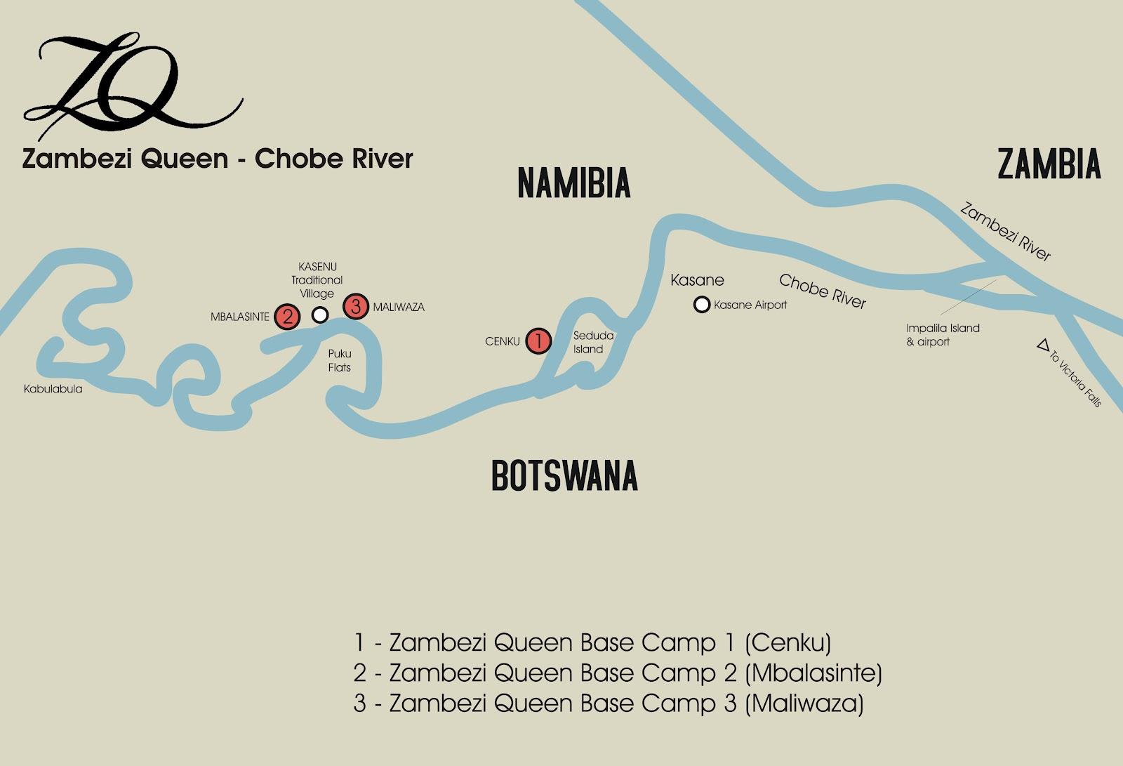 Handeyi Africa Adventures Zambezi Queen Chobe Botswana