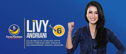 Livy Andriany Tunjukkan Bukti Bukan Perempuan di Kamar Andi Arief