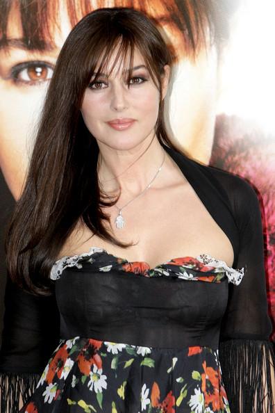 Monica Bellucci Hairstyles - Hair Fashion 2012