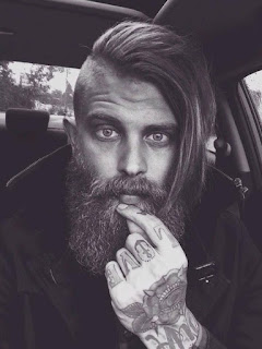42 Undercut with beard styles for men