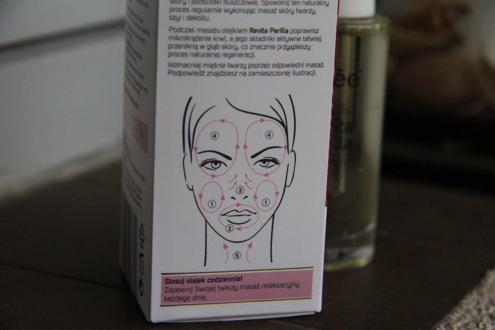 masaż twarzy olejkami