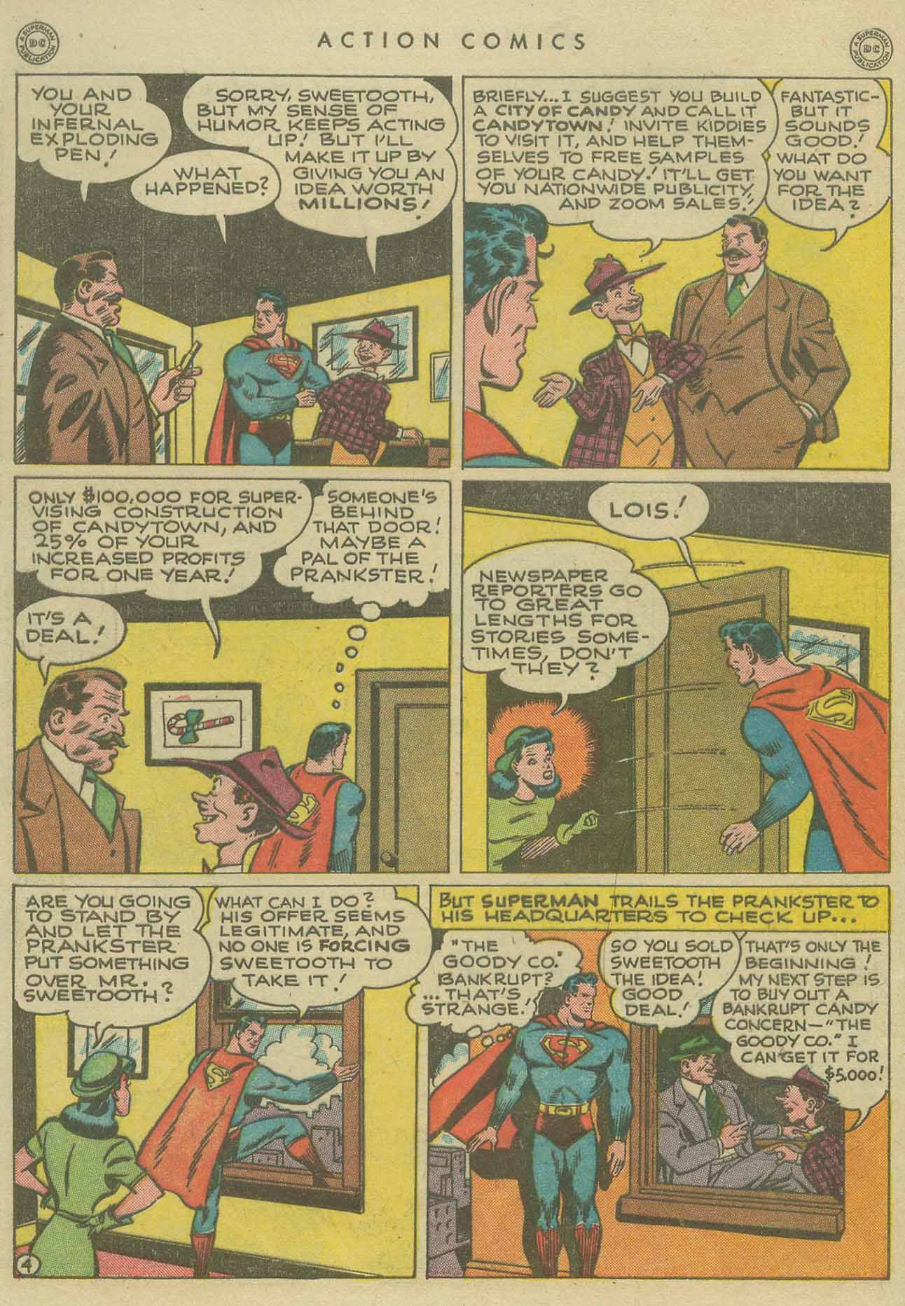 Read online Action Comics (1938) comic -  Issue #104 - 6