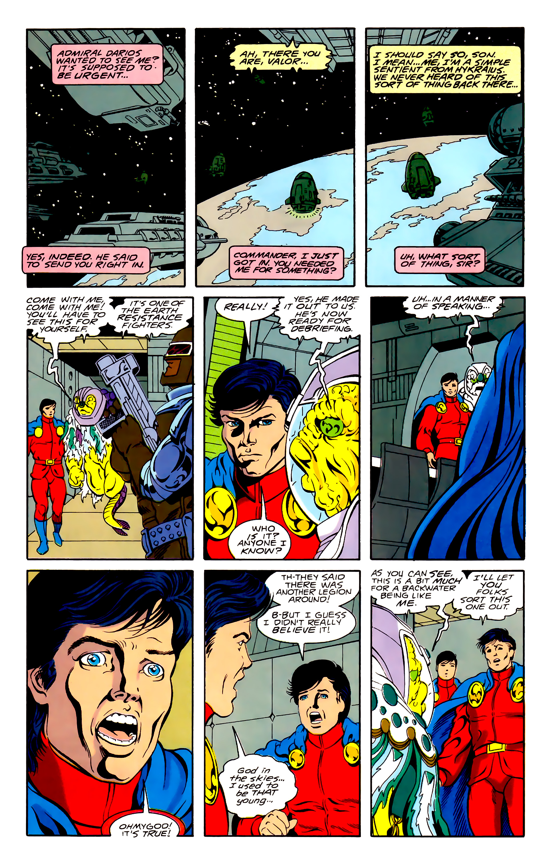 Legion of Super-Heroes (1989) 31 Page 21