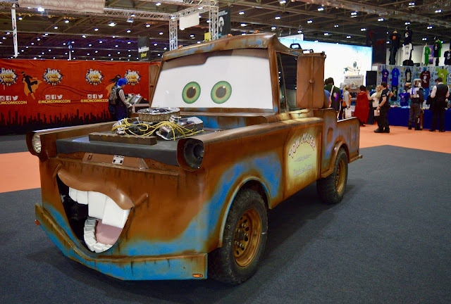 Tom Mater Cars 3 Comic Con