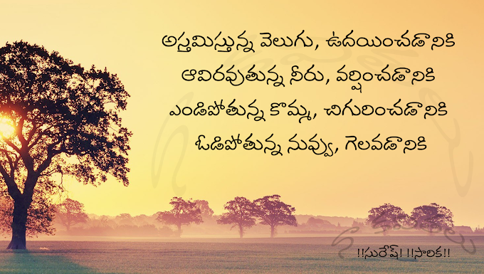 Telugu kavithalu - జీవితం