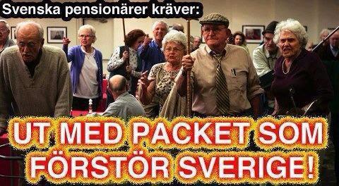 bevara sverige svenskt klistermärken