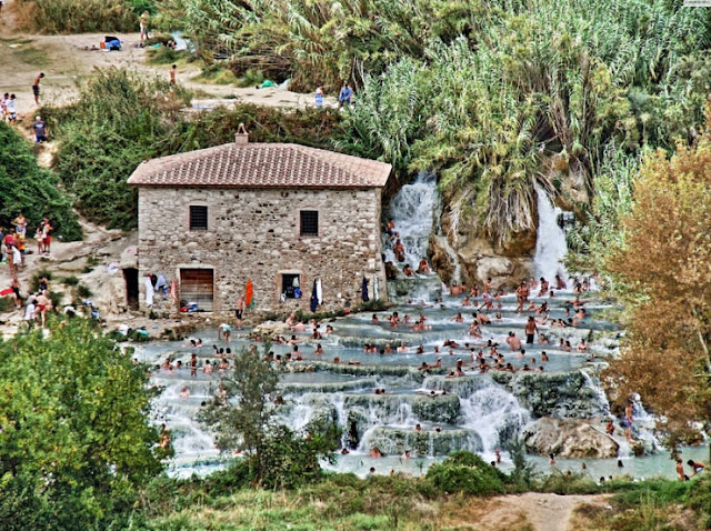 Saturnia, Toscana, Italia