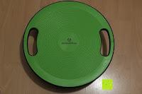 Erfahrungsbericht: Balance-Board »Gyro« / Der ideale Kreisel für Physiosport / Physiotherapie. Mit dem Wackelbrett trainiert bzw. stärkt man das Körpergleichgewicht & die Körper-Koordination. Auch einsetzbar als Therapiekreisel / Koordinations Board für Fitness und Spielspaß / Durchmesser ca. 40cm & Höhe ca. 10cm
