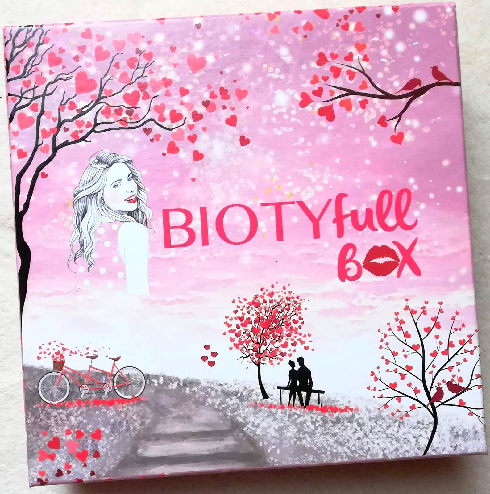 BIOTYFULL BOX Février 2019 : La Bienheureuse