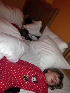 Beds at Disney's Hotel Santa Fe in Disneyland Paris