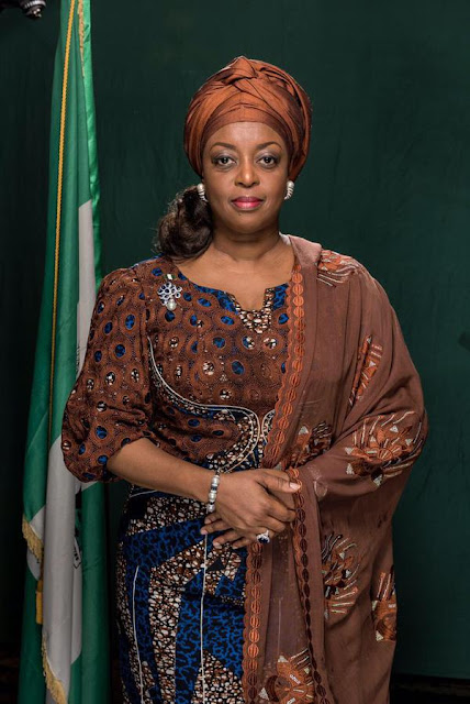 where is diezani alison madueke now