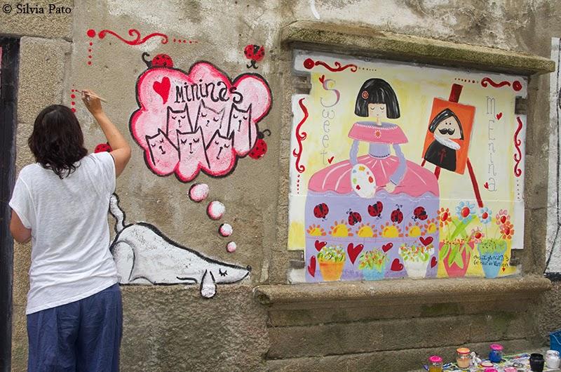 Pintando las meninas