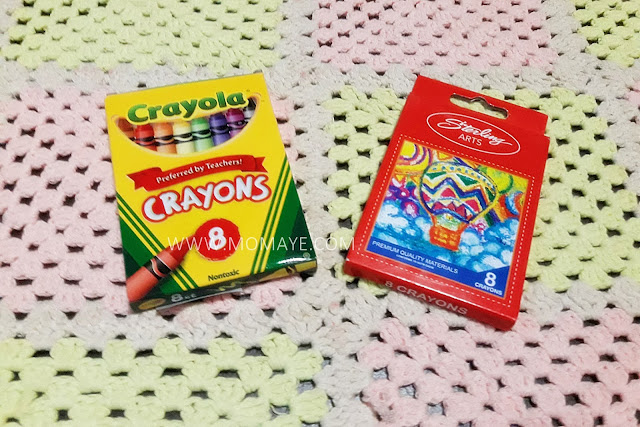SM Department Store, back to school tips, school things, Crayola, crayons, Sterling arts